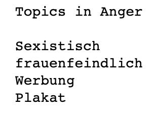topics anger